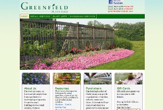 older design for Greenfield Plant Farm, located in Maineville and Anderson