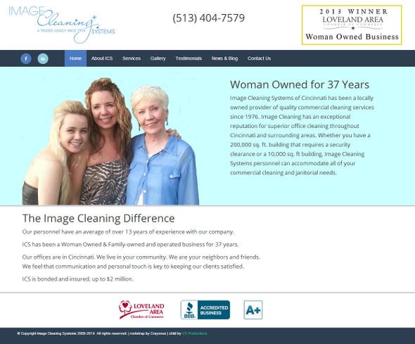Image Cleaning Systems of Cincinnati family owned commercial cleaning company