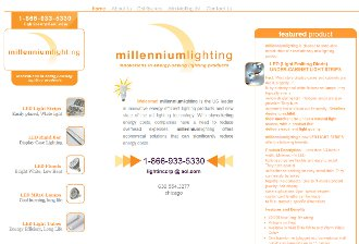 old design for Millennium Lighting Corp purveyor of excellent lighting solutions for Jewelers